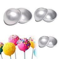 お買い得  キッチン用小物-ベークツール アルミ 多機能 / 3D / DIY アイスクリーム / 出芽 円形 ケーキ型 6本