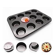 お買い得  キッチン用小物-ベークツール メタル 耐熱の / 3D / 多機能 パン / Cupcake 長方形 ケーキ型 1個