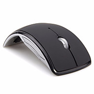 お買い得  マウス-Factory OEM ワイヤレス2.4G オフィスマウス キー LEDライト 4調整可能なDPIレベル 4つのプログラム可能なキー