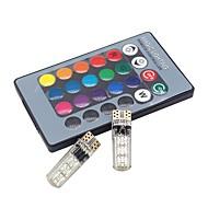 お買い得  -SO.K 2pcs T10 車載 電球 2 W SMD 5050 100 lm 6 LED インテリアライト For ユニバーサル 全年式