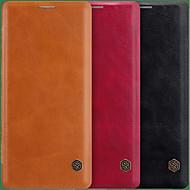 Недорогие Чехлы и кейсы для Galaxy Note 8-nillkin case for samsung galaxy note 9 / примечание 8 держатель карты / флип чехлы для тела сплошная цветная твердая кожа pu для примечания 9 / примечание 8