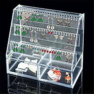 お買い得  収納&整理-PVC 長方形 クリエイティブ ホーム 組織, 1個 メイキャップ用ストレージ