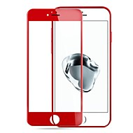 Недорогие Защитные плёнки для экрана iPhone-Защитная плёнка для экрана для Apple iPhone 7 Plus Закаленное стекло 1 ед. Защитная пленка для экрана Уровень защиты 9H / 3D закругленные углы