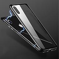 Недорогие Кейсы для iPhone 8-Кейс для Назначение Apple iPhone X / iPhone 8 Plus Прозрачный Кейс на заднюю панель Однотонный Твердый Металл для iPhone X / iPhone 8 Pluss / iPhone 8
