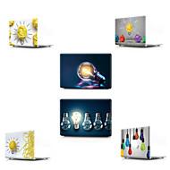 """お買い得  MacBook 用ケース/バッグ/スリーブ-MacBook ケース Appleロゴアイデアデザイン / 3Dカトゥーン PVC のために 新MacBook Pro 13"""" / MacBook Air 13インチ / MacBook 12''"""