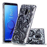 Недорогие Чехлы и кейсы для Galaxy S9 Plus-Кейс для Назначение SSamsung Galaxy S9 Plus / S9 С узором Кейс на заднюю панель Кружева Печать Мягкий ТПУ для S9 / S9 Plus / S8 Plus