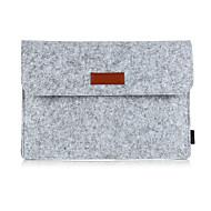 """abordables Accesorios de Portátil-Cuero Sintético / Cuero de Poliuretano / Piel Artificial / Textura de lana Un Color Mangas Macbook / Laptop de 13 """""""