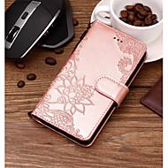 Недорогие Чехлы и кейсы для Galaxy Note 8-Кейс для Назначение SSamsung Galaxy Note 9 / Note 8 Кошелек / Бумажник для карт / со стендом Чехол Кружева Печать Твердый Кожа PU для Note 9 / Note 8