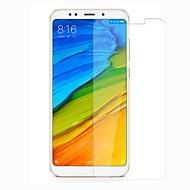 お買い得  スクリーンプロテクター-スクリーンプロテクター のために XIAOMI Xiaomi Redmi 5 Plus 強化ガラス 1枚 スクリーンプロテクター 硬度9H / 傷防止