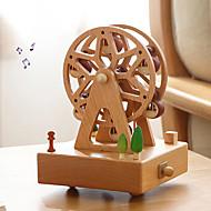 preiswerte Spielzeuge & Spiele-Spieluhr Riesenrad Modisch Niedlich Kreativ Erwachsene Kinder Geschenk Holz Unisex Geschenk