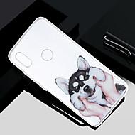 お買い得  携帯電話ケース-ケース 用途 Xiaomi Redmi S2 / Mi 5X クリア / 半透明 / パターン バックカバー 犬 ソフト TPU のために Redmi Note 5A / Xiaomi Redmi Note 4X / Xiaomi Redmi Note 4