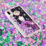 preiswerte Handyhüllen-Hülle Für Huawei P20 / P20 lite Mit Flüssigkeit befüllt / Muster / Glänzender Schein Rückseite Sexy Lady / Marmor Weich TPU für Huawei P20 / Huawei P20 Pro / Huawei P20 lite