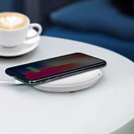 abordables Cargador Wireless-promocionales hq-s 10w rápido qi inalámbrico móvil / cargador de teléfono celular / puerto de alimentación / pad / estación / cargador para iphone / samsung / nokia / motorola / sony / huawei / xiaomi