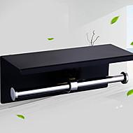 abordables Gadgets de Baño-Soporte para Papel Higiénico Nuevo diseño / Cool Moderno Acero Inoxidable / Hierro 1pc Soportes del Papel Higiénico Colocado en la Pared