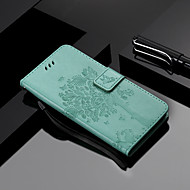 cheap -Case For OnePlus OnePlus 6 / OnePlus 5T Wallet / Card Holder / with Stand Full Body Cases Cat / Tree Hard PU Leather for OnePlus 6 / One Plus 5 / OnePlus 5T