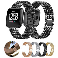 cheap Watch Bands for Fitbit-Watch Band for Fitbit Versa Fitbit Sport Band Stainless Steel Wrist Strap