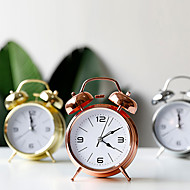 cheap -Alarm clock Analog Metal Mechanical 1 pcs