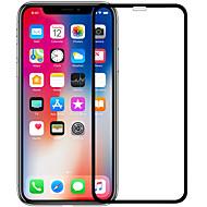 Недорогие Защитные плёнки для экрана iPhone-Защитная плёнка для экрана для Apple iPhone XS / iPhone X Закаленное стекло 1 ед. Защитная пленка на всё устройство HD / Уровень защиты 9H / Взрывозащищенный