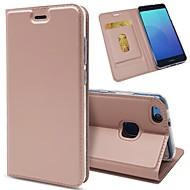 preiswerte Handyhüllen-Hülle Für Huawei P10 Plus / P8 Lite (2017) Kreditkartenfächer / Stoßresistent / mit Halterung Ganzkörper-Gehäuse Solide Hart PU-Leder für P10 Plus / P10 Lite / P10