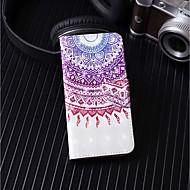 Недорогие Чехлы и кейсы для Galaxy S9 Plus-Кейс для Назначение SSamsung Galaxy S9 Plus / S9 Кошелек / Бумажник для карт / со стендом Чехол Мандала Твердый Кожа PU для S9 / S9 Plus / S8 Plus