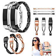 Watch Band for Fitbit Alta HR / Fitbit Alta Fitbit Sport Band / Jewelry Design Stainless Steel / Ceramic Wrist Strap