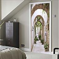 abordables Adhesivos Decorativos-Calcomanías Decorativas de Pared - Calcomanías 3D para Pared Naturaleza muerta / 3D Dormitorio / Interior