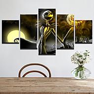 abordables Artículos para el Hogar-Calcomanías Decorativas de Pared - Calcomanías de Aviones para Pared Abstracto / Halloween Sala de estar / Interior
