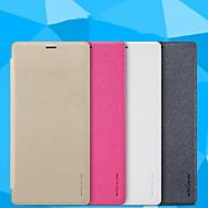 Недорогие Чехлы и кейсы для Galaxy Note-Кейс для Назначение SSamsung Galaxy Note 9 Матовое / Прозрачный Чехол Однотонный Твердый Кожа PU для Note 9