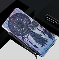 Недорогие Чехлы и кейсы для Galaxy S8 Plus-Кейс для Назначение SSamsung Galaxy S8 Plus / S8 Кошелек / Бумажник для карт / со стендом Чехол Ловец снов Твердый Кожа PU для S8 Plus / S8 / S7 edge