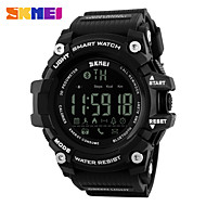 cheap Sport Watches-SKMEI Sport Watch Digital Watch Emitters Water Resistant / Water Proof, Bluetooth, Calendar / date / day Black / Red / Blue / Chronograph