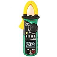 お買い得  -mastechデジタルマルチメーターアンペアクランプメーターms2108a電流クランプピンチャーac / dc電流電圧コンデンサー抵抗テスター
