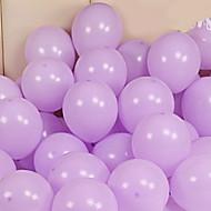 abordables Decoraciones de fiesta-Globos Redondas Creativo Cumpleaños Decoraciones del partido 100pcs