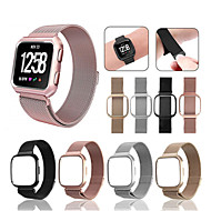 cheap Watch Bands for Fitbit-Watch Band for Fitbit Versa Fitbit Sport Band / Milanese Loop Stainless Steel Wrist Strap