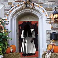 abordables Adhesivos Decorativos-Calcomanías Decorativas de Pared - Calcomanías de Aviones para Pared Halloween Interior