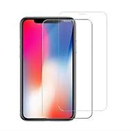 Недорогие Защитные плёнки для экрана iPhone-Защитная плёнка для экрана для Apple iPhone XS Max Закаленное стекло 2 штs Защитная пленка для экрана HD / Уровень защиты 9H / Взрывозащищенный