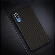 preiswerte Handyhüllen-Hülle Für Huawei P20 / P20 Pro Ultra dünn / Mattiert Rückseite Solide Weich Kohlefaser für Huawei P20 / Huawei P20 Pro / Huawei P20 lite