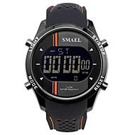 levne -SMAEL Pánské Sportovní hodinky Digitální hodinky japonština Japonské Quartz Silikon Černá / Tyrkysová 50 m Voděodolné Kalendář Chronograf Digitální Na běžné nošení Módní - Modrá Orange / Black