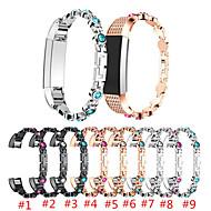 Недорогие Аксессуары для смарт-часов-Ремешок для часов для Fitbit Alta HR / Fitbit Alta Fitbit Спортивный ремешок Нержавеющая сталь Повязка на запястье