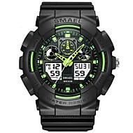 levne -SMAEL Pánské Sportovní hodinky Digitální hodinky japonština Digitální Černá 50 m Voděodolné Kalendář Stopky Analogové Módní - Zelená Modrá / Svítící