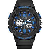 levne -SMAEL Pánské Sportovní hodinky Digitální hodinky japonština Japonské Quartz Černá / Modrá 50 m Voděodolné Kalendář Stopky Analog - Digitál Módní - Modrá Černá / Modrá / Svítící