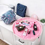 お買い得  浴室用小物-動物のフラミンゴ化粧品バッグ専門のひものメークアップケース女性の旅メイクアップオーガナイザーの収納ポーチトイレタリーウォッシュ