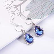cheap -Women's Vintage Style Drop Earrings - Pear Geometric, Fashion, Elegant Gray / Yellow / Blue For Wedding Ceremony