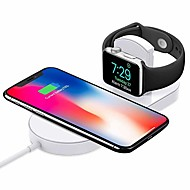 abordables Cargadores Wireless para iPhone-Cwxuan Cargador Wireless Cargador usb USB con el cable / QC 3.0 / Cargador Wireless 1 A DC 9V / DC 5V para iPhone X / iPhone 8 Plus / iPhone 8