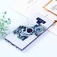 Недорогие Чехлы и кейсы для Galaxy Note-Кейс для Назначение SSamsung Galaxy Note 9 / Note 8 С узором Кейс на заднюю панель Черепа Мягкий ТПУ для Note 9 / Note 8