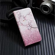 tok Για Samsung Galaxy A6+ (2018) / A6 (2018) Πορτοφόλι / Θήκη καρτών / με βάση στήριξης Πλήρης Θήκη Μάρμαρο Σκληρή PU δέρμα για A6 (2018) / A6+ (2018) / Galaxy A7(2018)