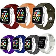 Klokkerem til Apple Watch Series 4/3/2/1 Apple Sportsrem Silikon Håndleddsrem