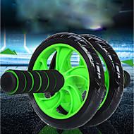 abordables Ejercicio y Fitness-Aprox.15cm Rodillo de rueda Ab Con 1 Passepartout Cómodo, No resbaladizo, Estabilidad Extensión, Mejorando curvas hacia atrás PVC (PVJ), PP+ABS Para Fitness / Gimnasia / Rutina de ejercicio Cintura