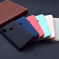 お買い得  携帯電話ケース-ケース 用途 Xiaomi Mi 8 / Mi 8 SE つや消し バックカバー ソリッド ソフト TPU のために Xiaomi Mi 8 / Xiaomi Mi 8 SE / Xiaomi Mi 6X(Mi A2)