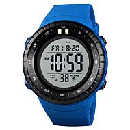 cheap -SKMEI Men's Sport Watch Military Watch Japanese Digital 50 m Alarm Calendar / date / day Chronograph PU Band Digital Casual Fashion Black / Blue / Red - Blue Khaki Black / White One Year Battery Life