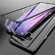Недорогие Чехлы и кейсы для Galaxy Note 8-Кейс для Назначение SSamsung Galaxy Note 9 / Note 8 Полупрозрачный Чехол Однотонный Твердый Закаленное стекло для Note 9 / Note 8